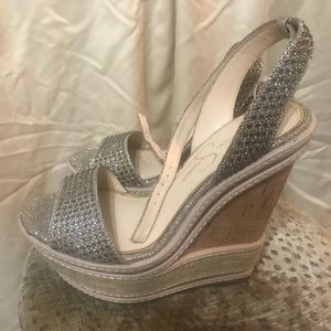 Jessica Simpson high heel sandals